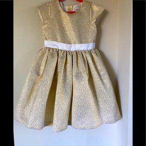 Gymboree Gold Jacquard  Dress